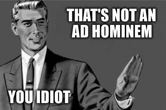 What is an Ad Hominem Fallacy? | Personal Enrichment | Pinterest ...
