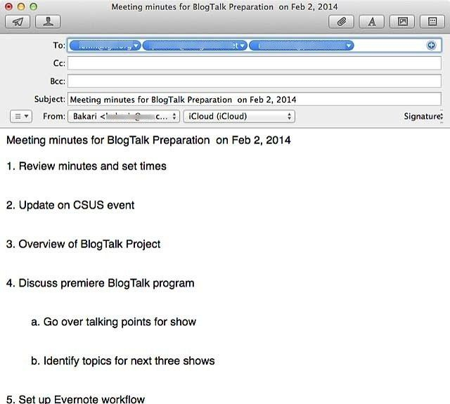 Meetings vs. Meetings: Two Mac Applications for Managing Agendas ...