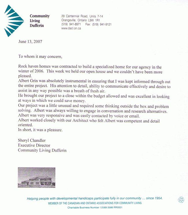 Sample Testimonial Letter - Best Letter Sample