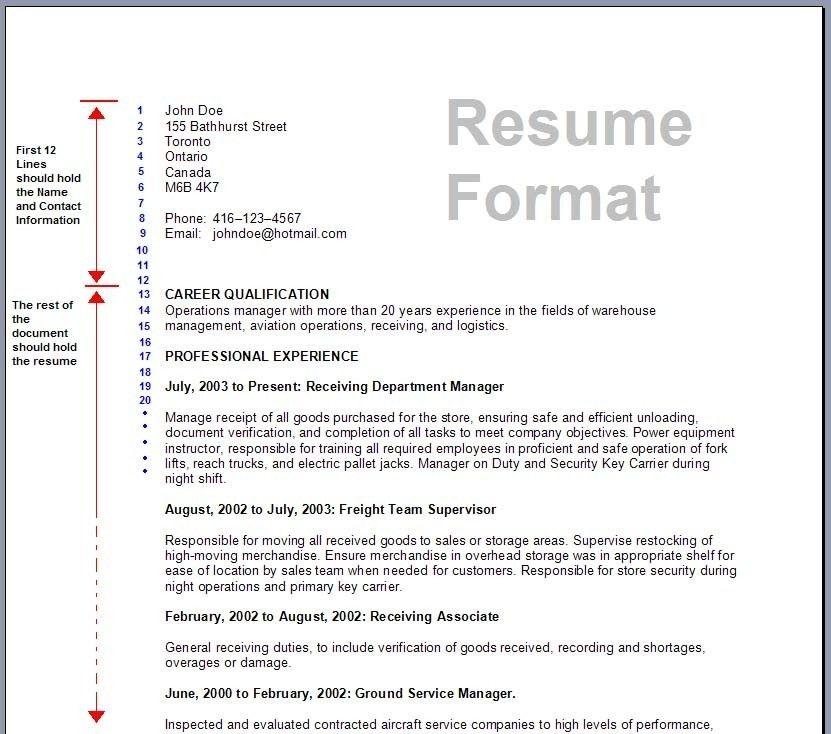 Current resume formats cvlook01.billybullock.us