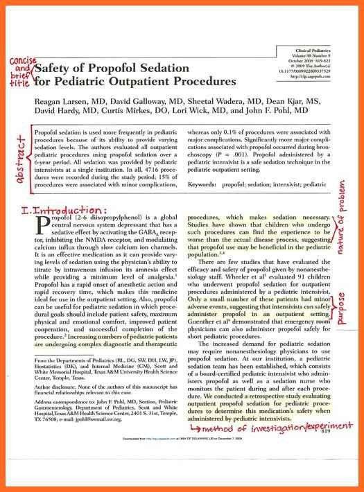 scientific paper example | soap format