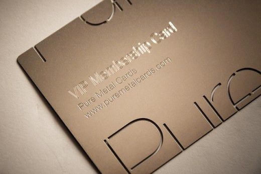Uniquely Designed Embossed Business Cards for your Inspiration ...