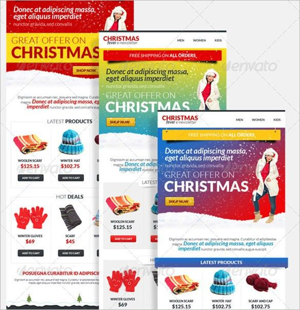 9+ Holiday Newsletter Templates – Free Word Documents Download ...