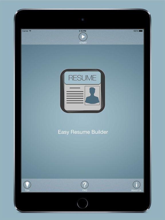 Easy Resume Builder: Free Resume App and CV Maker on the App Store