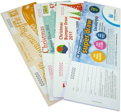 Raffle Tickets | Raffle Ticket Printing | Draw Tickets