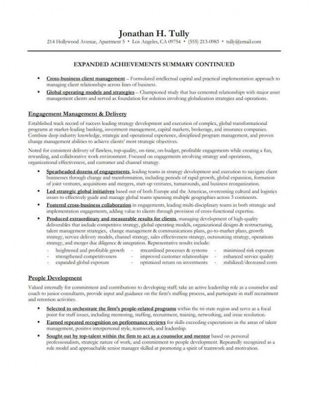 Examples Of Executive Summaries 31 Executive Summary Templates - summary example resume