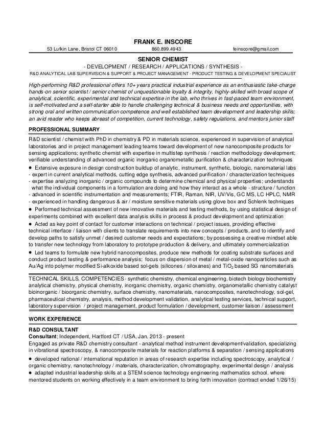 1d1 fei resume r&d sr chemist 2015