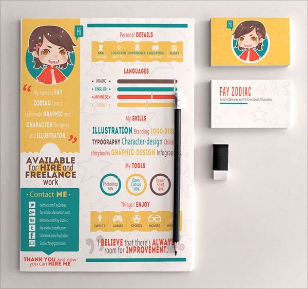 Cute Resume Templates | berathen.Com