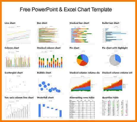 5 excel graph templates | Receipt Templates