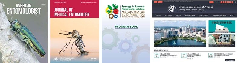 Advertise in ESA Publications | Entomological Society of America