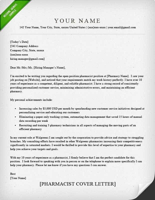 cover letter explanation. example of a cover letter for a job ...