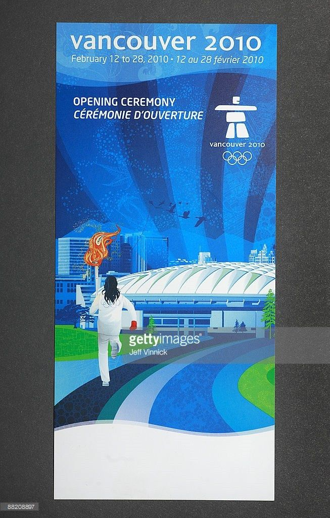 Photos et images de Preview of Vancouver 2010 Ticket Designs ...