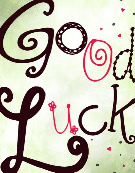 GroupCard - Good Luck Card for Zoe Lister