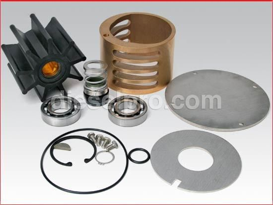 Detroit Diesel 60 Series Marine Raw Sea Water Pump Repair Kit