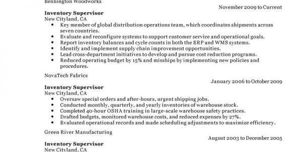 Warehouse Inventory Control Job Description Inventory Control ...