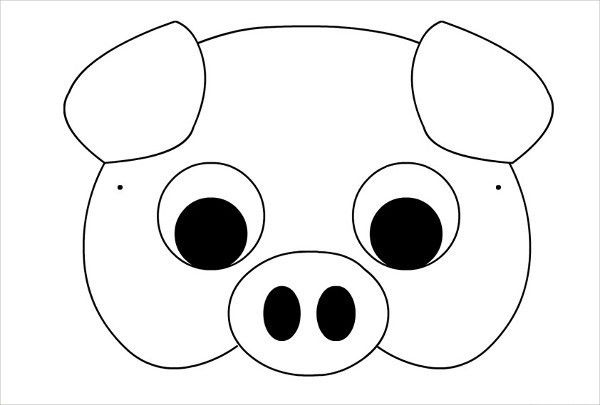 7+ Printable Mask Template - Free Sample, Example, Format Download ...