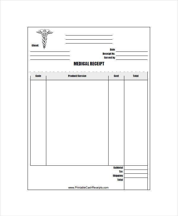 Simple Receipts Simple Receipt Template 9 Free Samples Examples – Simple Receipt