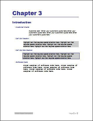 Microsoft White Paper Template. Free Download White Paper Template ...
