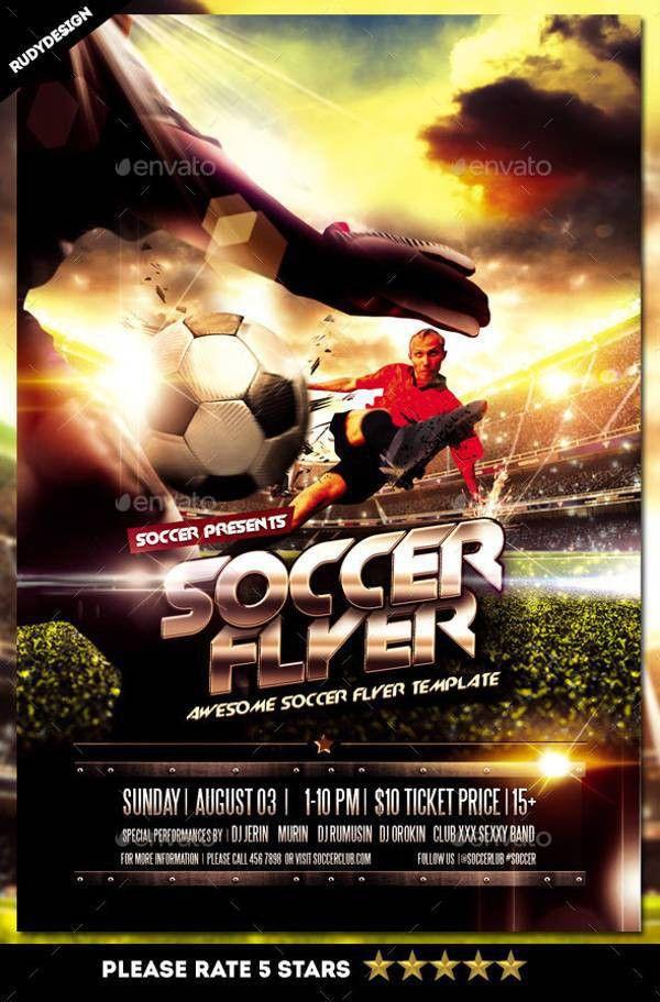 Sports Flyer | Design Trends - Premium PSD, Vector Downloads