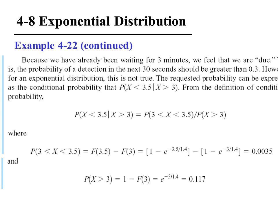 4-1 Continuous Random Variables 4-2 Probability Distributions and ...