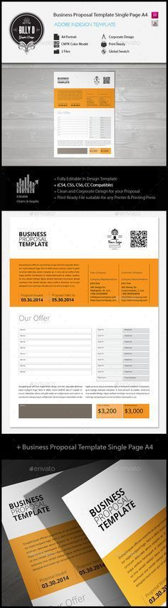 Business Proposal Templates Examples | business proposal sample ...