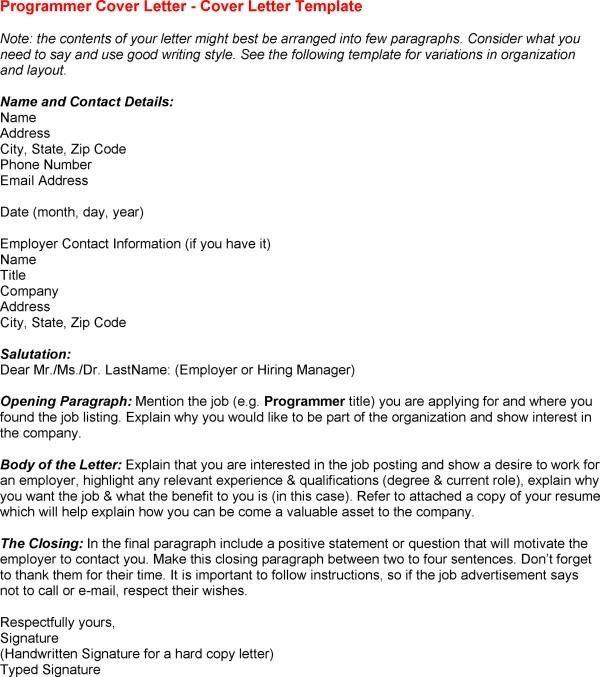 Clinical Sas Programmer Cover Letter Sample Entry Level Inside 15 ...