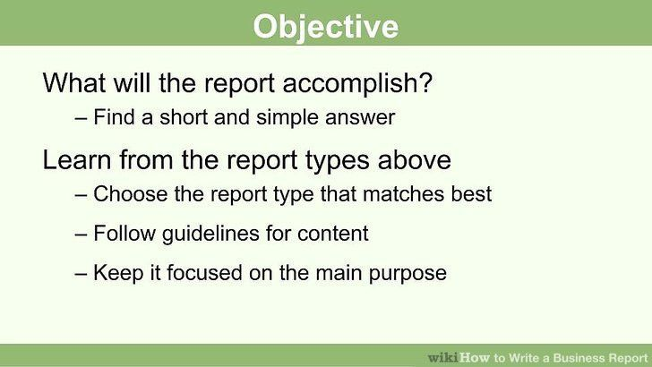 How to Write a Business Report (with Pictures) - wikiHow