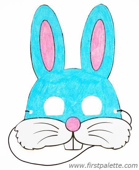 Printable Animal Masks Craft | Kids' Crafts | FirstPalette.com