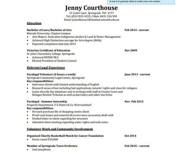 Lawyer Resume Template. Resume For Attorney Sample Sample Legal ...