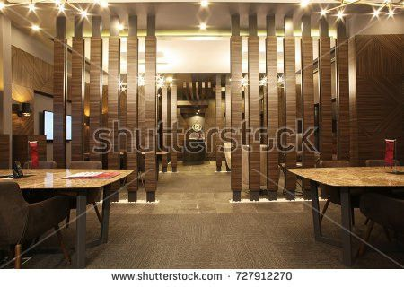 Vector Bar Pub Interior Brick Walls Stock Vector 645184165 ...