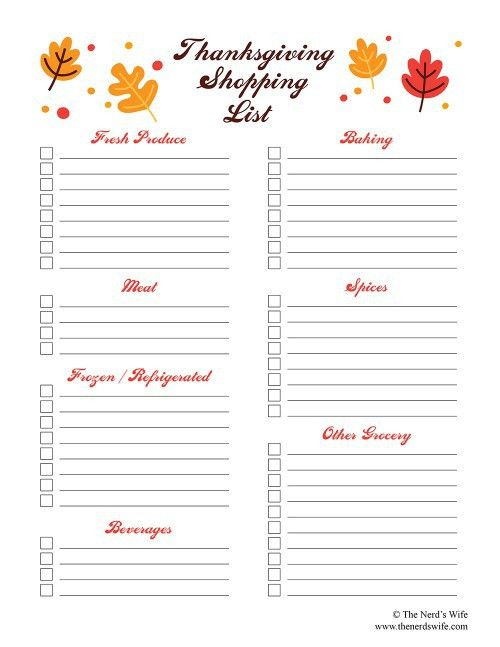 Printable Shopping List. Free Printable Shopping Lists Printable ...