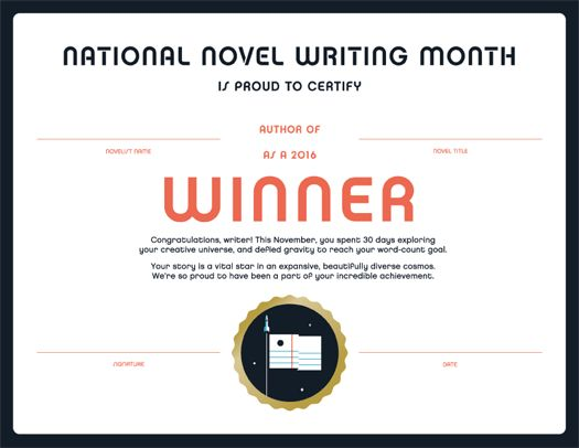 NaNoWriMo's Young Writers Program (Beta)