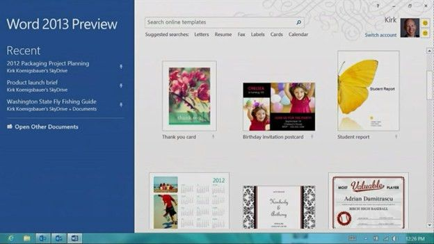 Office 2013: A first look at the new version of Microsoft Office ...