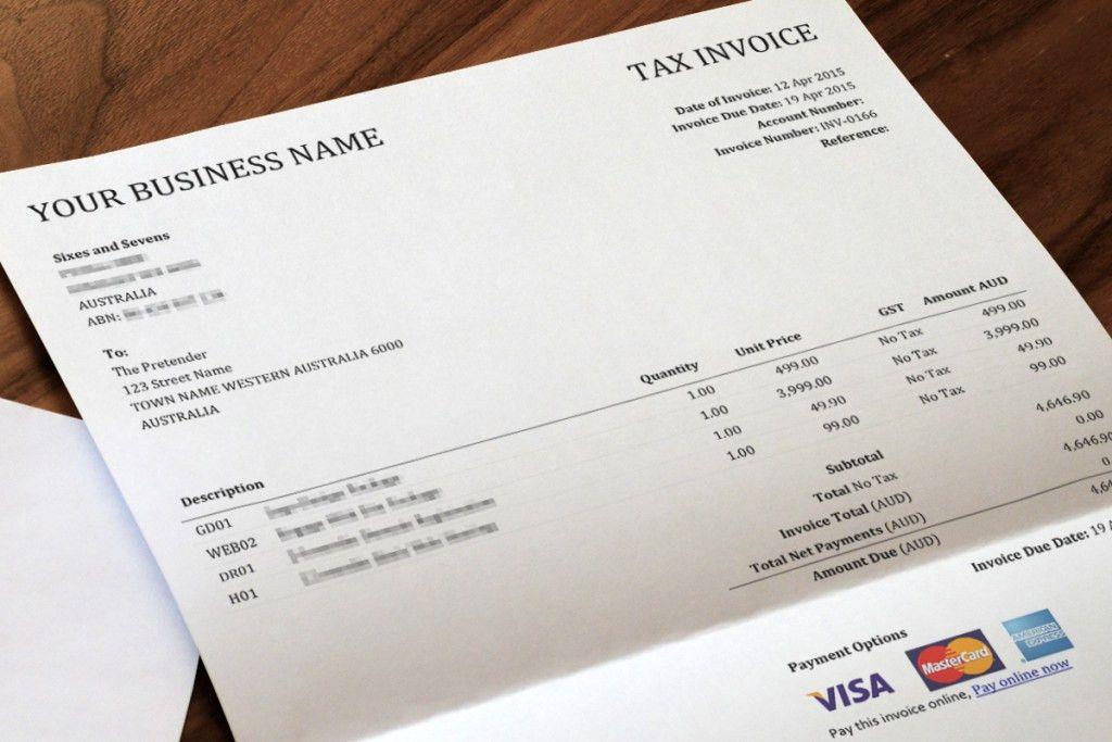 Xero Invoice Templates | free printable invoice