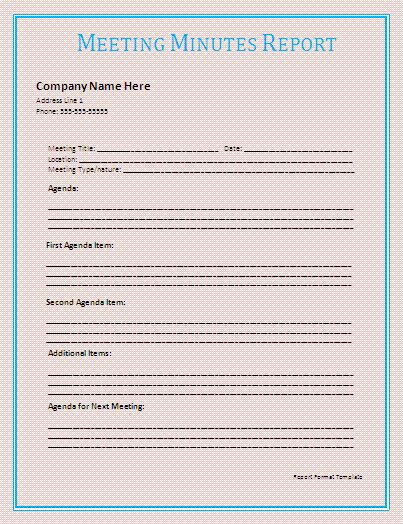 Sales Report Template | A to Z Free Printable Sample Forms