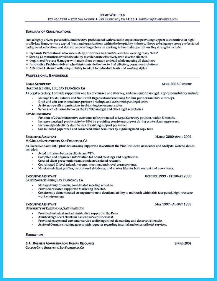 Best Resume Format For Executives. Resume Sample - Human Resources ...