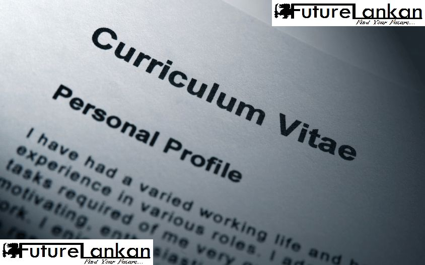 Curriculum vitae and Cover Letters For Srilanka – Find your future