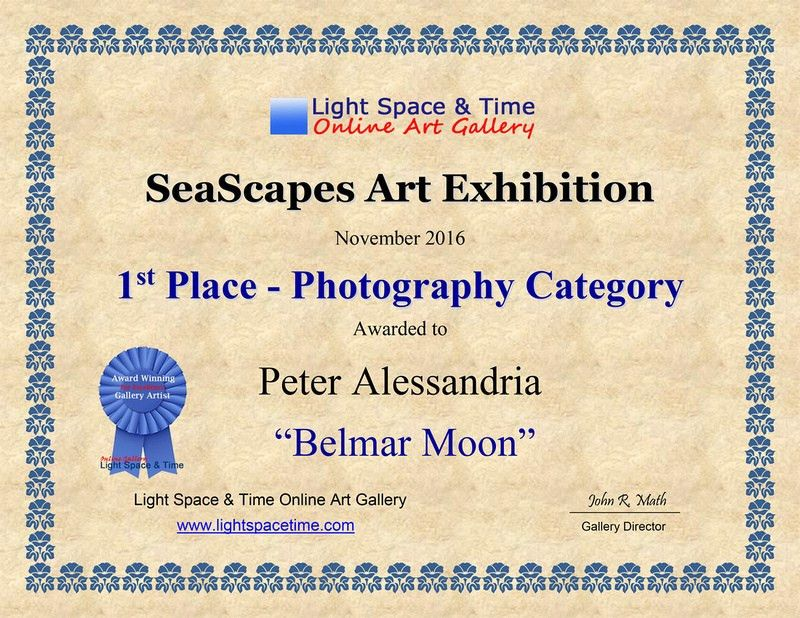 PETER ALESSANDRIA PHOTOGRAPHY | Seascapes 2016 Juried Art Exhibit ...