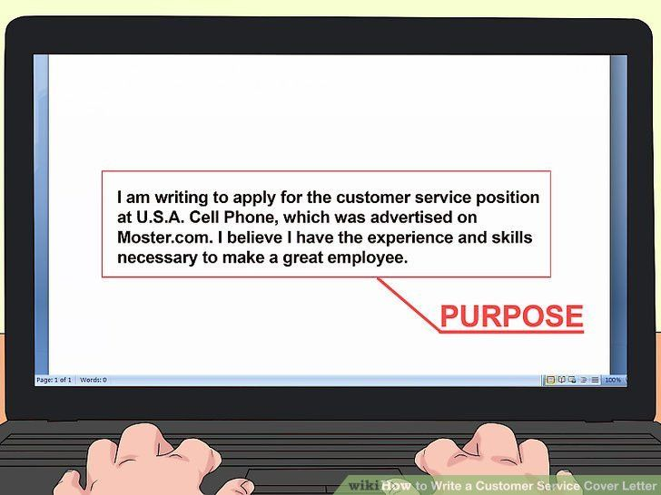 How to Write a Customer Service Cover Letter: 13 Steps