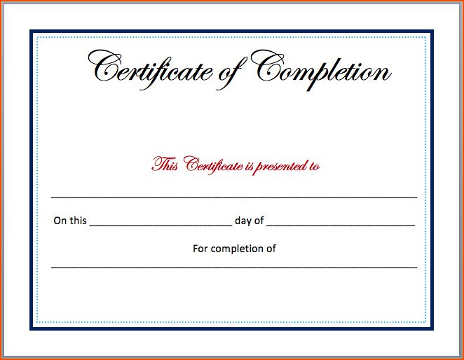 8+ certificate template word - bookletemplate.org