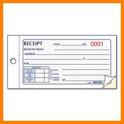 9+ printable receipt book | cio resumed
