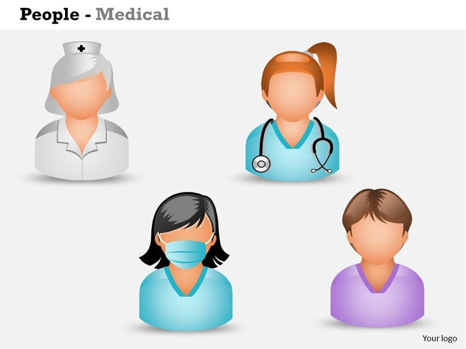 0514 3d Graphic Of Nurses And Medical Assistant Medical Images For ...