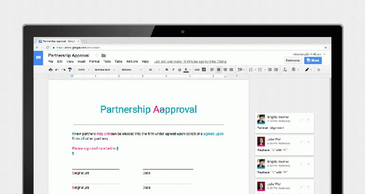 Google updates Docs, Sheets and Slides with new collaboration ...