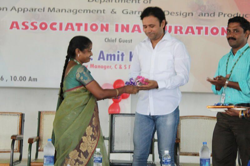 Inauguration of Fashion Apparel Management Department & Garment ...