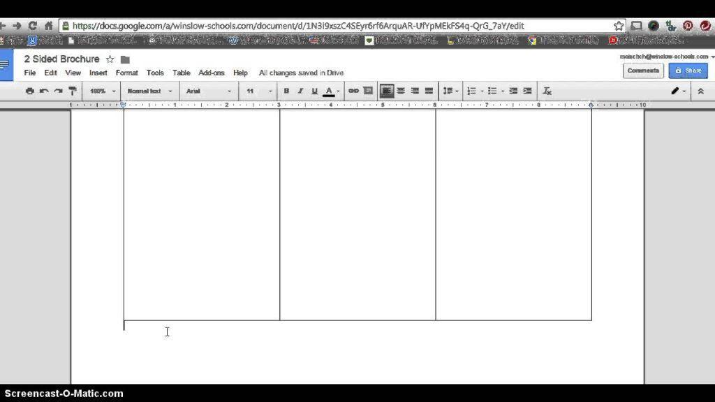 google slides brochure template | Professional Templates