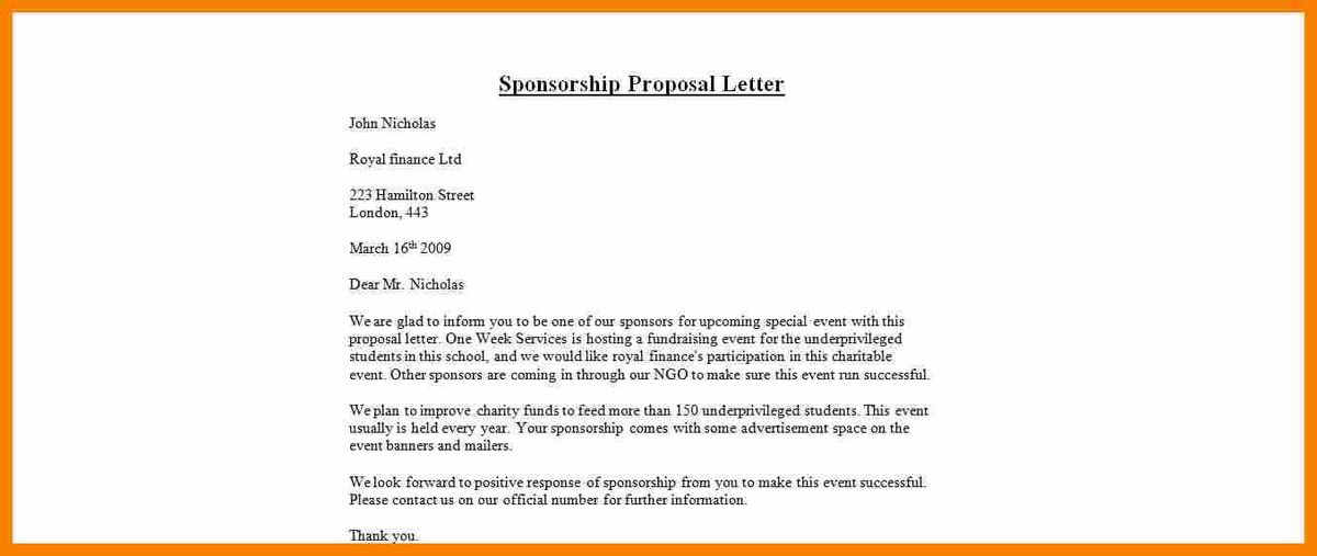 Request For Sponsorship Proposal.sponsorship Proposal Letter.jpg ...