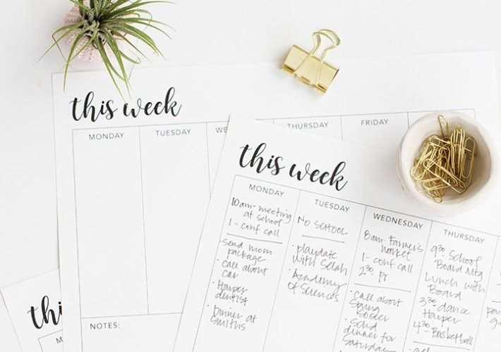 Flywheel | Increase your productivity with these free printable to ...
