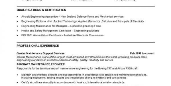 Download Boeing Mechanical Engineer Sample Resume ...
