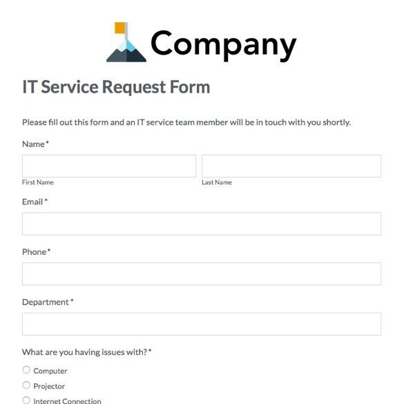 Medical Records Request Form. Web Form Templates | Customize & Use ...