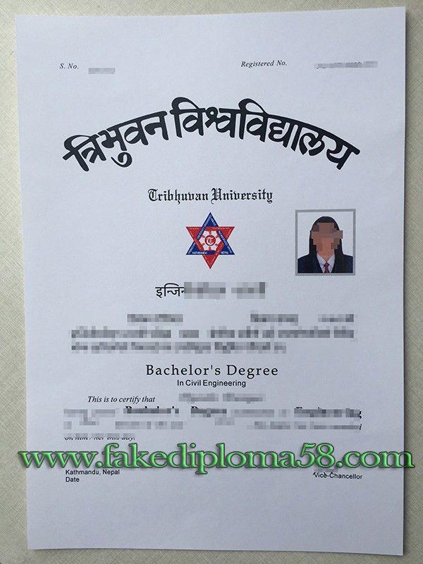 fake Tribhuvan University degree in Nepal_fakediploma58